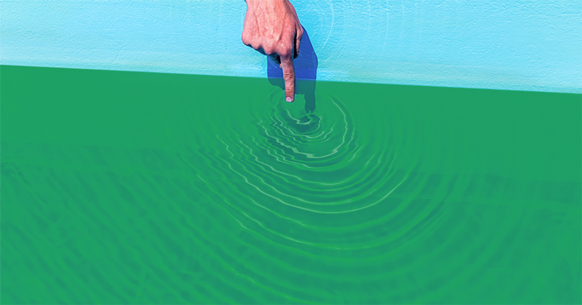 How to clean a green pool hydrocare pools - Can you swim after putting algaecide in pool ...